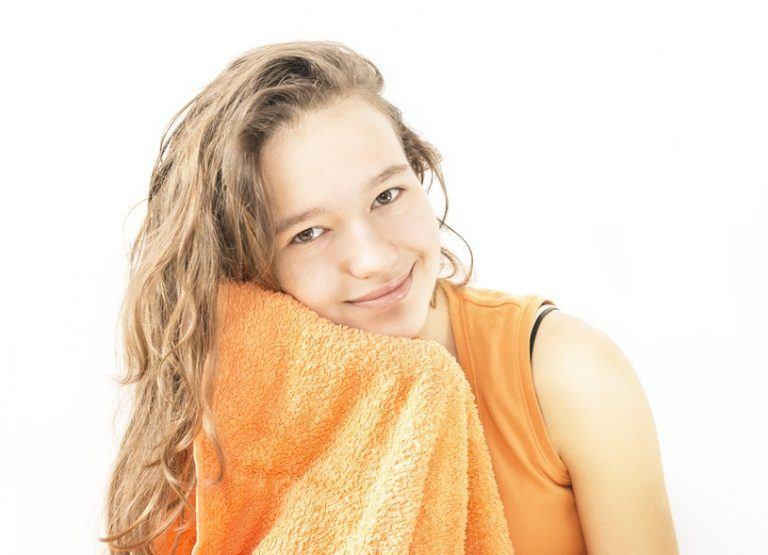 Jak myć skórę olejami