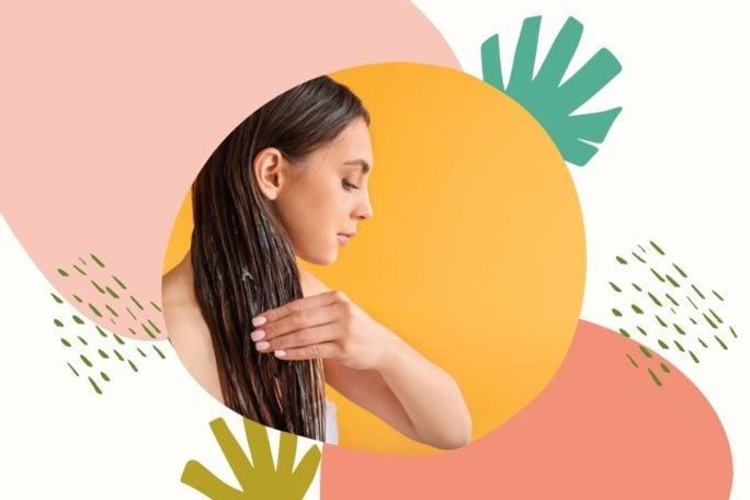 olejowanie włosów na mokro