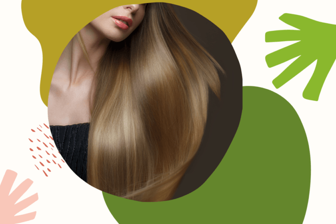 sposób na błyszczące włosy