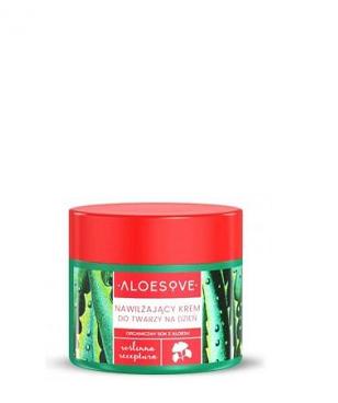 Aloesove - Nawilżający krem do twarzy na dzień