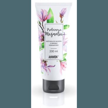 Odżywka do włosów o średniej porowatości - Proteinowa Magnolia