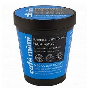 Maska do włosów zniszczonych i farbowanych - Odżywienie i regeneracja