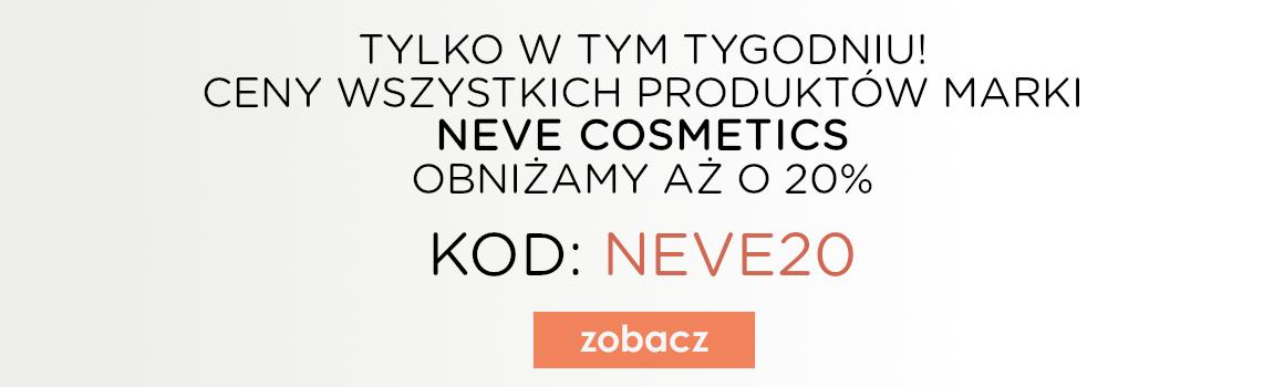 Neve Cosmetics -20%!