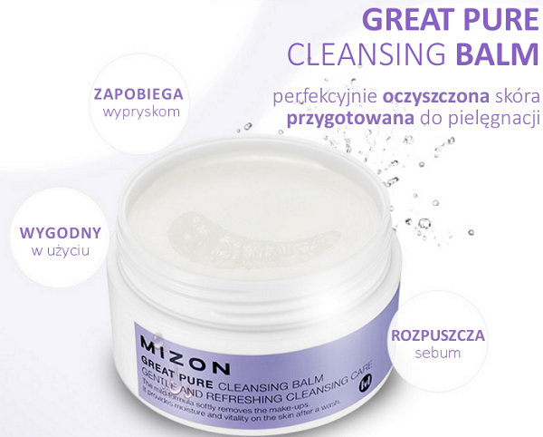 Mizon Great Pure Cleansing Balm