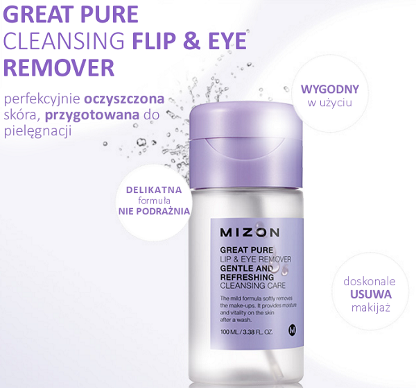 Mizon Great Pure Cleansing Lip & Eye Remover