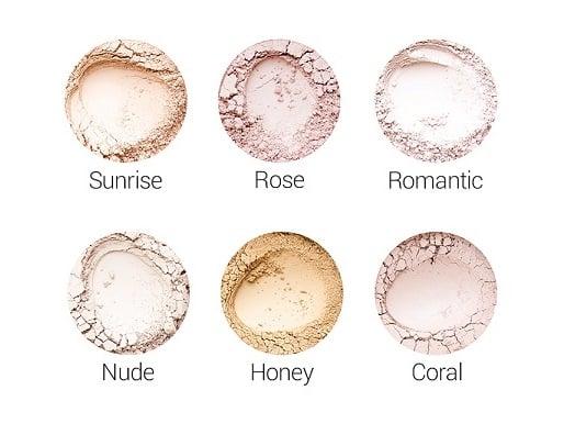 Róże mineralne