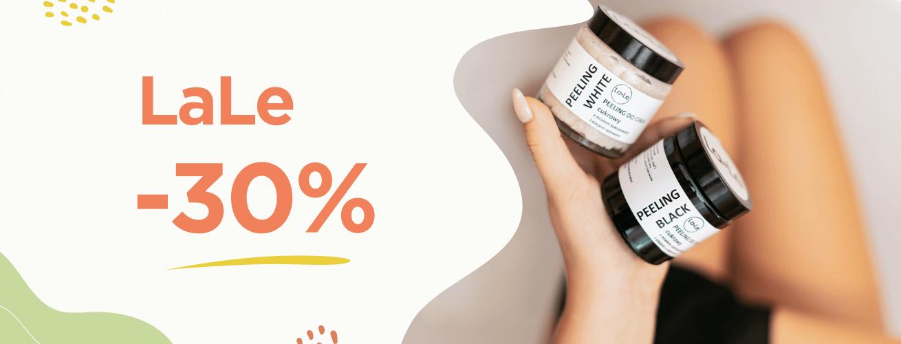 LaLe Kosmetyki aż 30% taniej!