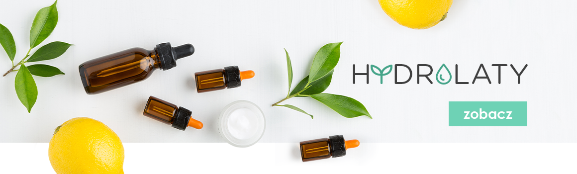 Naturalne hydrolaty